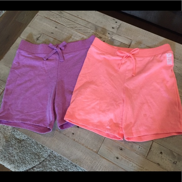 Justice Other - Set of 2 Justice Active shorts 18/20